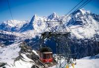 switzerland alps schilthorn bahn cable car