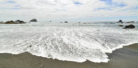 Incoming Tide at False Klamath Cove