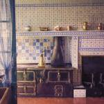 """Claude Monets Kitchen in Giverny"" by JohnRivera"