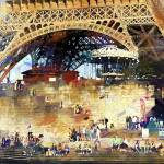 """Colors of Paris in the Summer"" by JohnRivera"