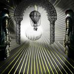 """IN THE TUNNEL Balloon Passage 36"" by ecolosimo"