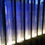 """A Wall of Blue Plates"" by Azodnem"