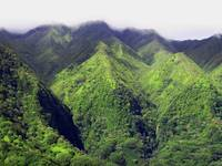 Ko'olau Mountains, Oahu, Hawaii