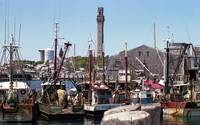 Provencetown Harbor with Monument