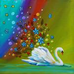 """Swan Lake"" by c"