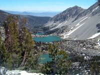 Three Lakes in King's Canyon National Forest