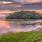 """MonksSunset1"" by CapeCodCyclist"