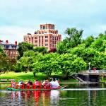 """Boston MA - Boston Public Garden"" by susansartgallery"