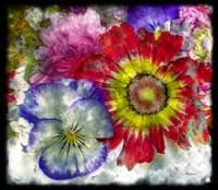 33a Abstract Floral Painting Digital Expressionism