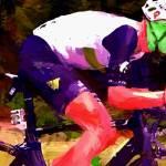 """cyclist h"" by ArtbySachse"