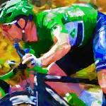 """""""cyclist o"""" by ArtbySachse"""