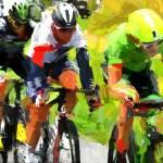 """cyclist x"" by ArtbySachse"