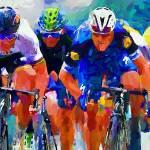 """cyclist z"" by ArtbySachse"