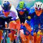 """cyclist z 1"" by ArtbySachse"