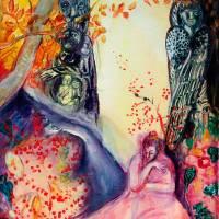 GOLDEN DREAM / Yoga Meditation Zen Garden Art Prints & Posters by Bulgan Lumini