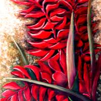 RED GINGER Art Prints & Posters by KARIN DAWN BEST