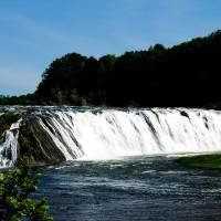 View of Cohoes Falls Art Prints & Posters by Valerie Waters