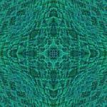 """""""Stroxymity Aqua Mandala"""" by richardhjones"""