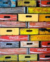 Old soda crates