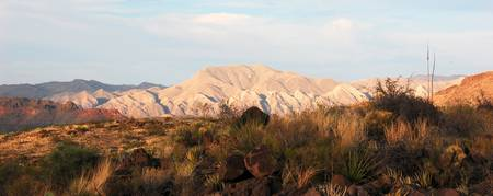 Chisos Mountains panoramic
