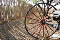 Red Wagon Wheel #2