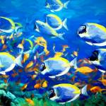 """""""back from school of fish"""" by ArtbySachse"""