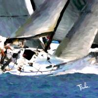 sail19 Art Prints & Posters by Tom Sachse