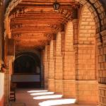 """""""Sunlit Hall in the Convent of La Merced, Cuco Peru"""" by RoupenBaker"""