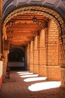 Sunlit Hall in the Convent of La Merced, Cusco Per