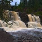 """Lower Gooseberry Falls"" by janesprints"