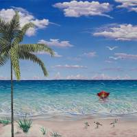 Paradise Awaits Art Prints & Posters by Wayne Cantrell