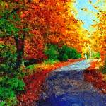 """""""ENGLISH COUNTRY LANE 13D"""" by ArtTylers"""