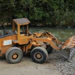"""Front End Loader and Rock Pile"" by rhamm"