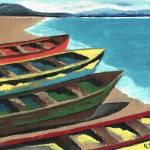 """""""Boats In A Row"""" by ksartoris"""