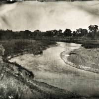 Ernie LaPointe View of Grand River 7-9-2016 #1902 Art Prints & Posters by Shane Balkowitsch