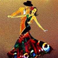La Fiesta Art Prints & Posters by Valerie Anne Kelly