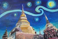 Starry Night in Thailand - Van Gogh Inspirations i