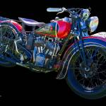 """""""1938 Indian Sport Scout M.C."""" by FatKatPhotography"""