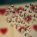 """Drops whit Heart"" by Donatus"