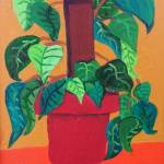 """Green Plant & Red Pot 1"" by svales"