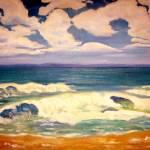 """The beach"" by valzart"