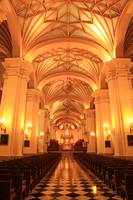 Cathedral in Lima Peru
