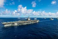USS Ronald Reagan (CVN 76)  Credit US Navy