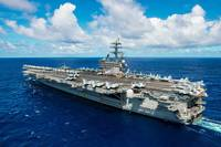 USS Ronald Reagan (CVN 76) Credit US Navy 2