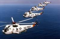 U.S. Navy Sikorsky SH-3H Sea King anti-submarine w