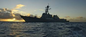 The guided-missile destroyer 2