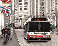 CTA bus Chicago