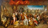 Daniel Maclise - The Chivalric Vow of the Ladies o