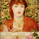"""Dante Gabriel Rossetti - Regina Cordium - Alice Wi"" by motionage"