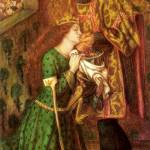 """Dante Gabriel Rossetti - Saint George and the Prin"" by motionage"